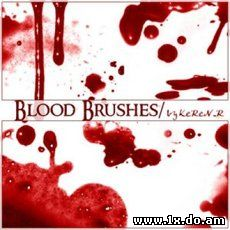 Blood Brushes